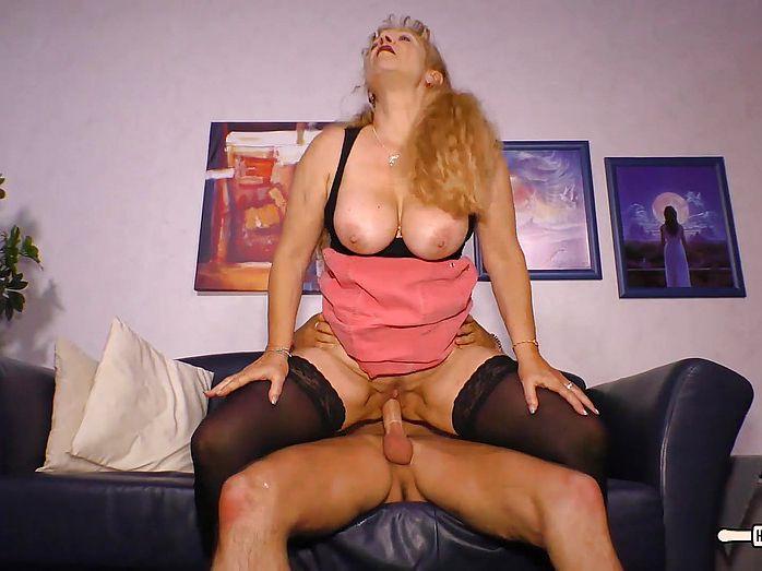 German mature huge tits